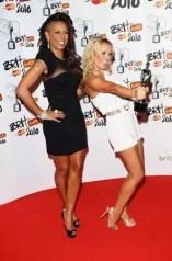Emma-Bunton-e-Mel-B-au-Birt-Awards-2010