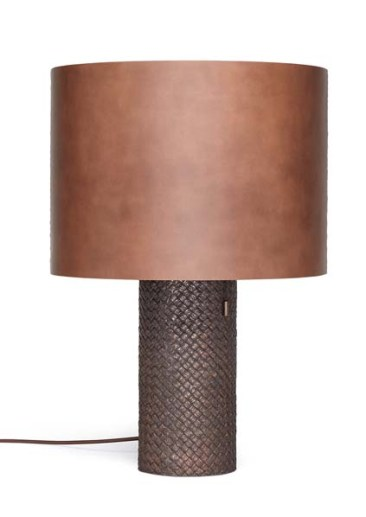 Brushed Bronze OVM Table Lamp