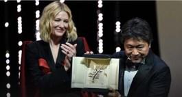 Hirokazu Kore Eda - Palme d'or - Manbiki Kazoku (Une Affaire de famille), avec Cate Blanchett © Alberto Pizzoli_AFP
