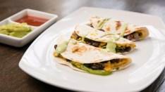 2.Tacos al formaggio vegano