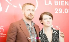 Ryan Gosling and Claire Foyattends