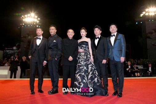 Qianyuan Wang, Hu Jun, Zhang Yimou, Guan Xiaotong, Zhang Kai and Wang Jingchun