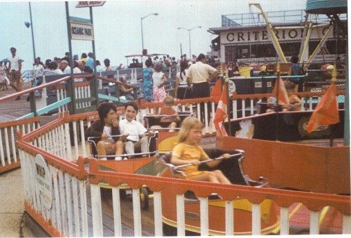 Boardwalk ride 1960