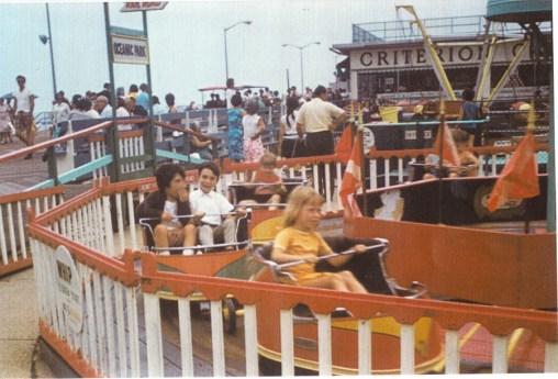 Boardwalk ride 1960