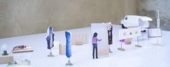 Luca Vitone, Maquette dell'installazione proposta per lo CSAC, 2017. CSAC, Università di Parma. ph. Giovanni Oberti