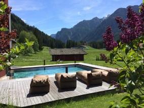 Romantik Hotel Santer - Piscina Esterna