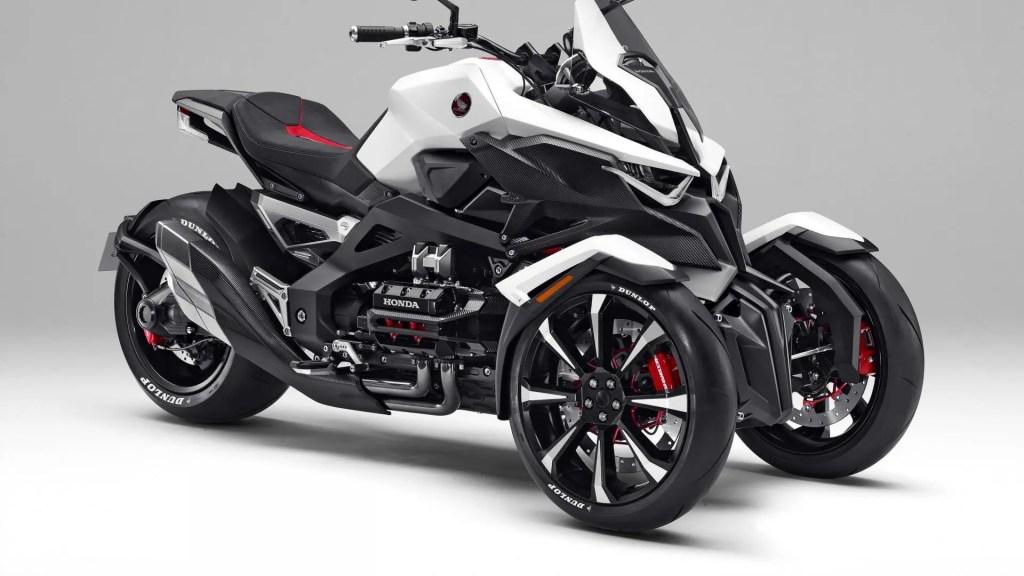 Honda concept de tres ruedas