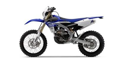 Yamaha WR 450 F - lateral Izq.