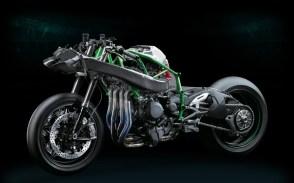 Kawasaki Ninja H2R por dentro