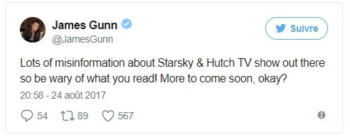 James Gunn - Tweet