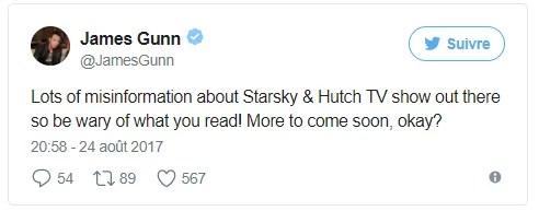 James Gunn - Tweet