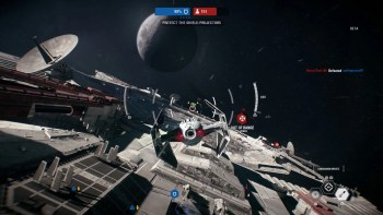 Les batailles dans l'espace sont bien faites
