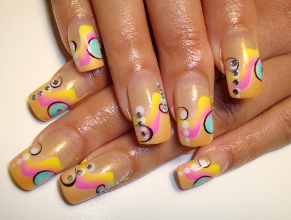 Colorful Simply Elegant Nails - Nail Art