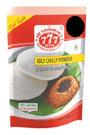 777 Idly Chilly Powder 1 Kg Pouch