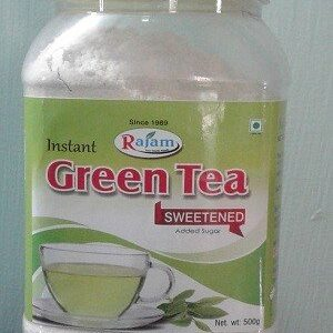 Rajam Green Tea Jar 500 Grams