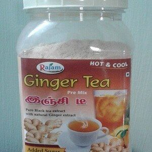 Rajam Ginger Tea Jar 200 Grams