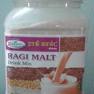 Rajam Ragi Malt Jar 500 Grams