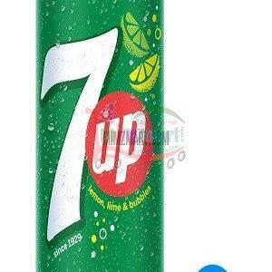7 Up Soft Drink Lemon 250 Ml Can