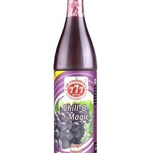 777 Chill O Magic Grape Squash 700 Ml Bottle