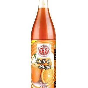 777 Chill O Magic Orange Squash 700 Ml Bottle