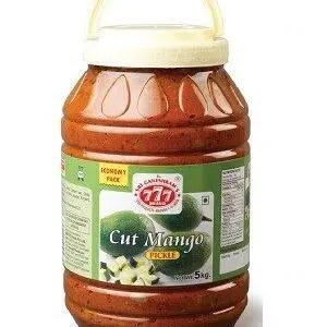 777 Cut Mango Pickle 5 Kg Jar