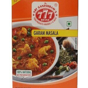 777 Garam Masal Powder 10 Grams Strip Of 10 Nos