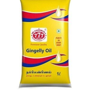 777 Gingelly Oil 1 Litre Pouch