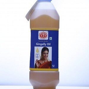 777 Gingelly Oil 1 Litre Jar