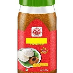 777 Garlic Dhall Powder 250 Grams Jar