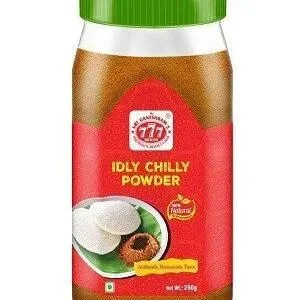 777 Idly Chilly Powder 250 Grams Jar