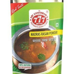 777 Rasam Powder 10 Grams Strip Of 10 Nos
