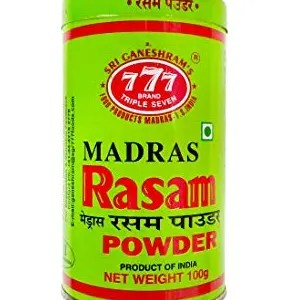 777 Rasam Powder Tin 100 Grams