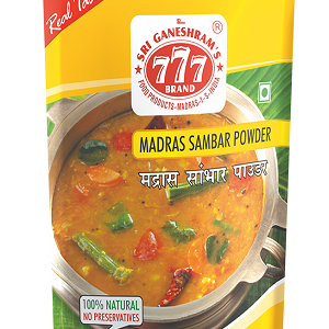 777 Sambar Powder 100 Grams Standy Pouch
