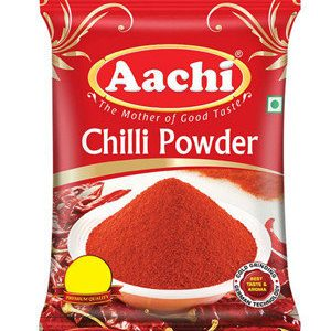 Aachi Chilli Powder 500 Grams Pouch