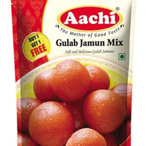 Aachi Gulab Jamun Mix 175 Grams Buy 1 Get 1 Free