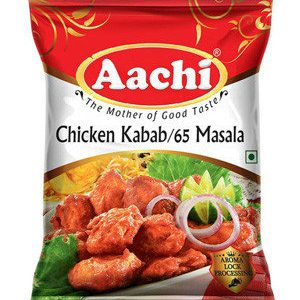Aachi Chicken Kabab Chicken 65 Masala 50 gm