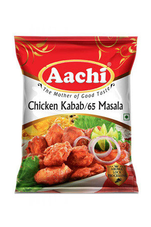 Aachi Masala – Chicken Kabab / Chicken 65, 100 gm Pouch
