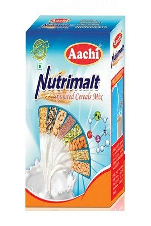 Aachi Nutri Malt - Sprouted Cereals Mix 500 Grams