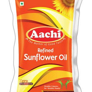 Aachi Sunflower Oil 1ltr