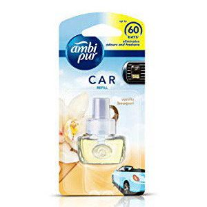 Ambi Pur Car Air Freshener Vanilla Refill Pack 7.5 Ml
