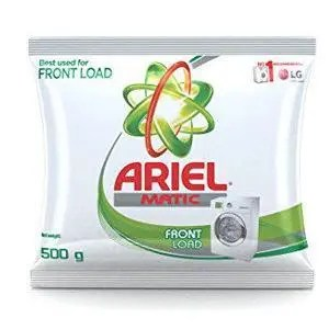 Ariel Washing Detergent Powder - Matic Front Load, 500 gm