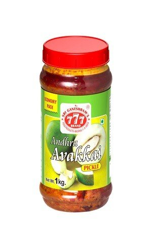 777 Avakaya Pickle 300 Grams