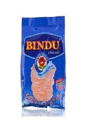 Bindu Appalam Masala Chips 100Gm