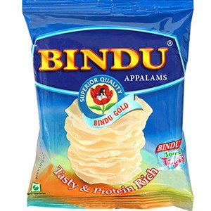 Bindu Appalams Gold 100Gm