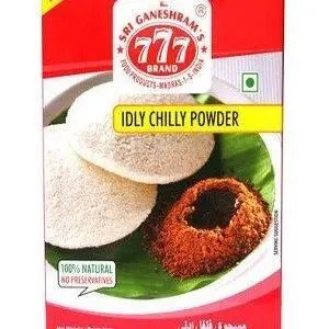 777 Idly Chilly Powder 50 Grams Pouch