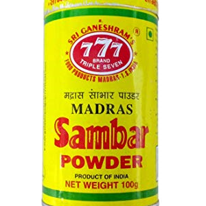 777 Sambar Powder Tin 100 Grams