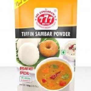 777 Tiffin Sambar Powder 100 Grams Pouch