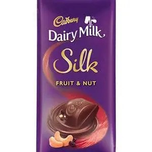 Cadbury Dairy Milk Silk Fruit & Nut Chocolate Bar, 137 gm