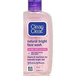 Clean And Clear Natural Bright Facewash 50 Ml