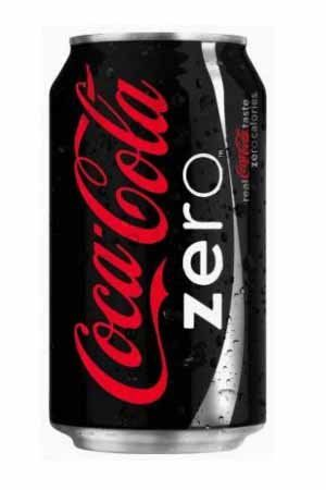 Coca Cola Zero 300 Ml Tin